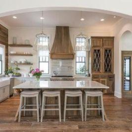 Wonderful wood kitchen design ideas for cozy kitchen inspiration 29