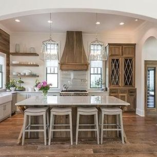 Wonderful wood kitchen design ideas for cozy kitchen inspiration 29