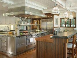 Wonderful wood kitchen design ideas for cozy kitchen inspiration 30