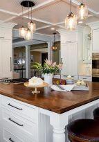 Wonderful wood kitchen design ideas for cozy kitchen inspiration 32