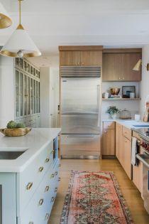 Wonderful wood kitchen design ideas for cozy kitchen inspiration 38