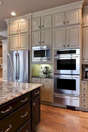 Wonderful wood kitchen design ideas for cozy kitchen inspiration 43