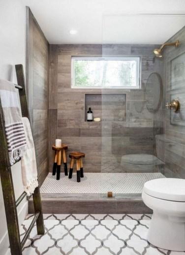 Adorable modern rustic bathroom ideas 05