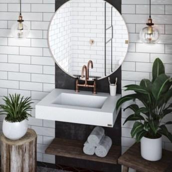 Adorable modern rustic bathroom ideas 08
