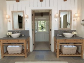 Adorable modern rustic bathroom ideas 18
