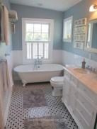 Adorable modern rustic bathroom ideas 19
