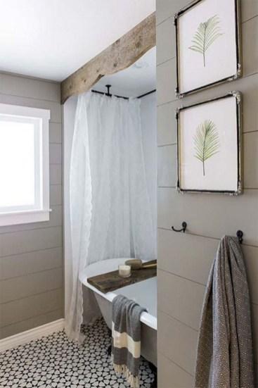 Adorable modern rustic bathroom ideas 23