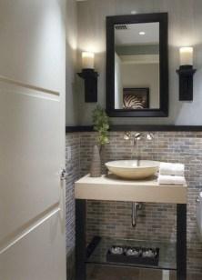 Adorable modern rustic bathroom ideas 26