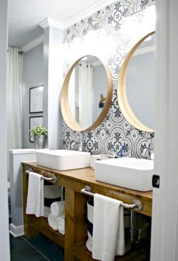 Adorable modern rustic bathroom ideas 31
