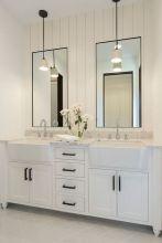 Affordable modern small bathroom vanities ideas 04