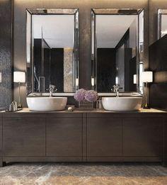 Affordable modern small bathroom vanities ideas 27