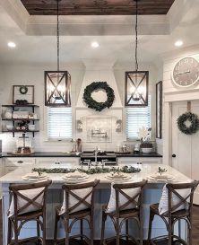 Amazing farmhouse kitchen decor ideas for inspiration 11