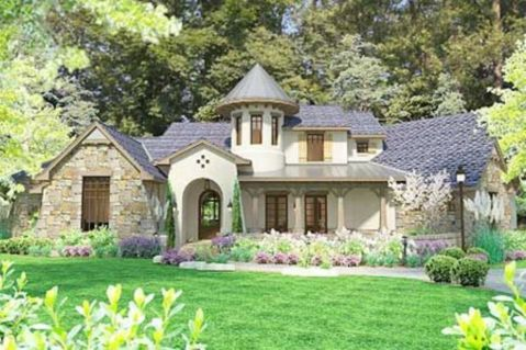 Amazing french country exterior for your home inspiration 01