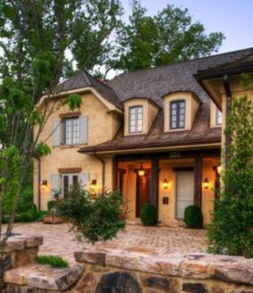 Amazing french country exterior for your home inspiration 42