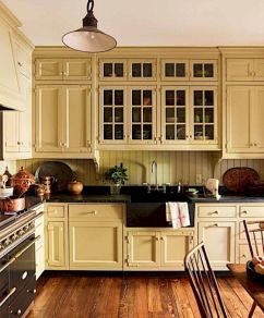 Amazing oak cabinet kitchen makeover ideas 20
