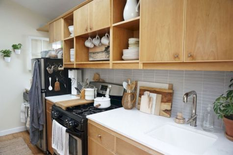 Awesome kitchen makeovers for small kitchens 12