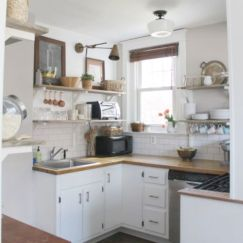 Awesome kitchen makeovers for small kitchens 36
