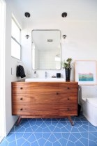 Beautiful mid century modern bathroom ideas 04