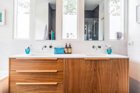 Beautiful mid century modern bathroom ideas 17