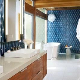 Beautiful mid century modern bathroom ideas 30