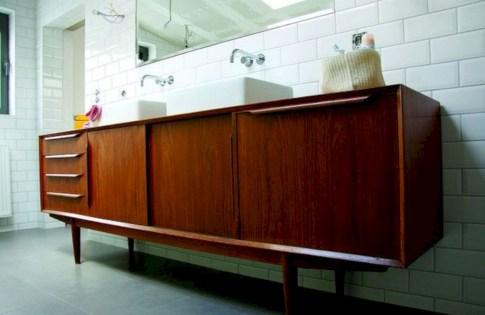 Beautiful mid century modern bathroom ideas 35