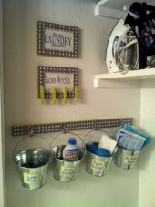 Brilliant laundry room organization ideas 36