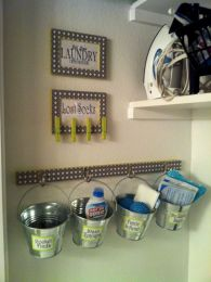Brilliant laundry room organization ideas 36