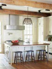 Comfy antique white kitchen cabinets ideas 28