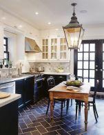Comfy antique white kitchen cabinets ideas 39