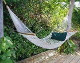Comfy backyard hammock decor ideas 07