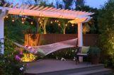 Comfy backyard hammock decor ideas 08