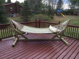 Comfy backyard hammock decor ideas 10