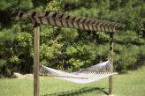 Comfy backyard hammock decor ideas 12
