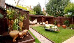 Comfy backyard hammock decor ideas 26