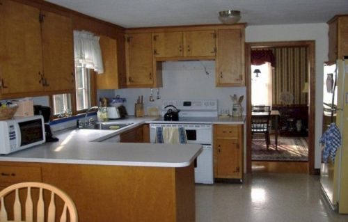 Cool inexpensive kitchen cabinet makeovers 05