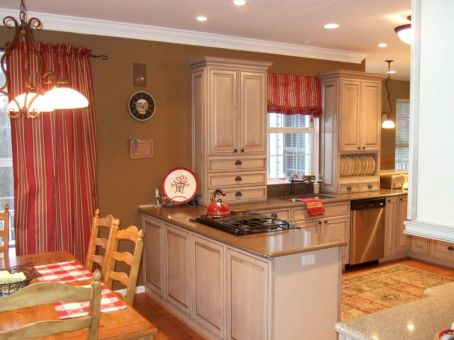 Cool inexpensive kitchen cabinet makeovers 08