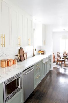 Cool inexpensive kitchen cabinet makeovers 16