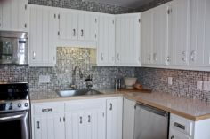 Cool inexpensive kitchen cabinet makeovers 17