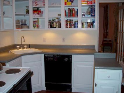 Cool inexpensive kitchen cabinet makeovers 38