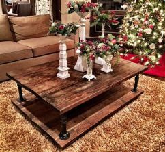 Creative coffee table design ideas for your home 23