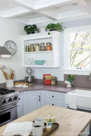 Creative diy easy kitchen makeovers 14