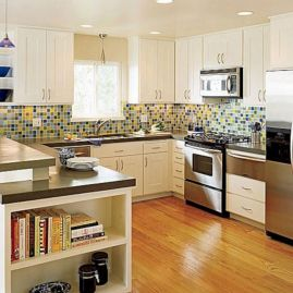 Creative diy easy kitchen makeovers 22