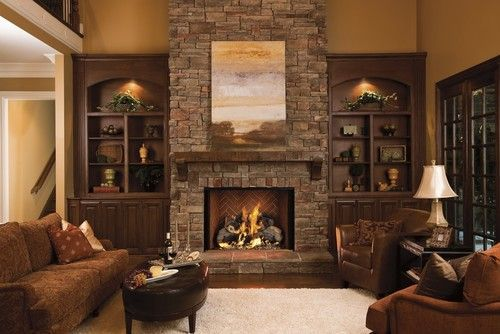 Cute rustic fireplace design ideas 05