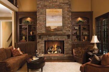 Cute rustic fireplace design ideas 05