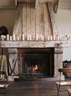 Cute rustic fireplace design ideas 10
