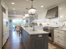 Easy grey and white kitchen backsplash ideas 12