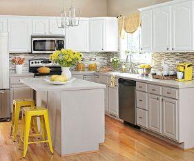 Easy grey and white kitchen backsplash ideas 15