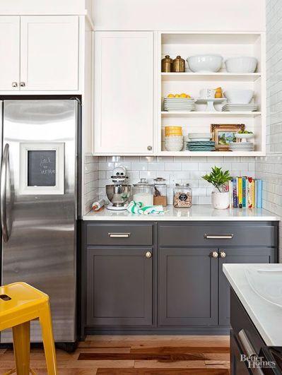 Easy grey and white kitchen backsplash ideas 25