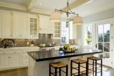 Easy grey and white kitchen backsplash ideas 33