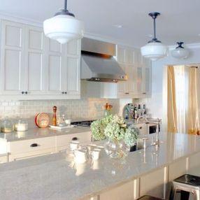 Easy grey and white kitchen backsplash ideas 39